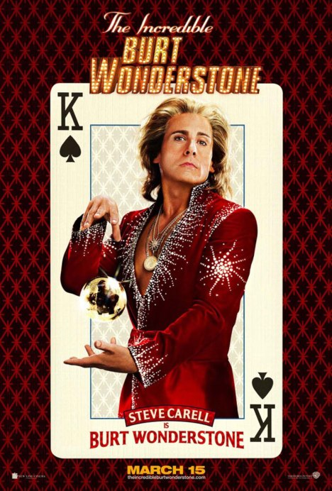The Incredible Burt Wonderstone-Carrell